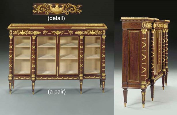 A pair of fine Napoleon III or