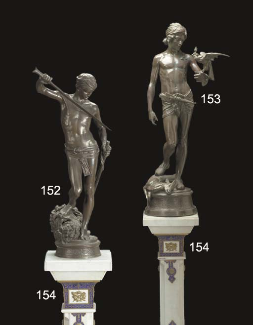 A French bronze figure, entitl
