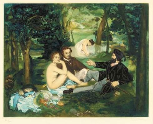 AFTER EDOUARD MANET (1832-1883