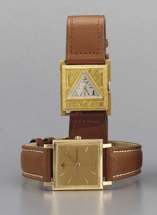 Jaeger-LeCoultre and Swiss. On