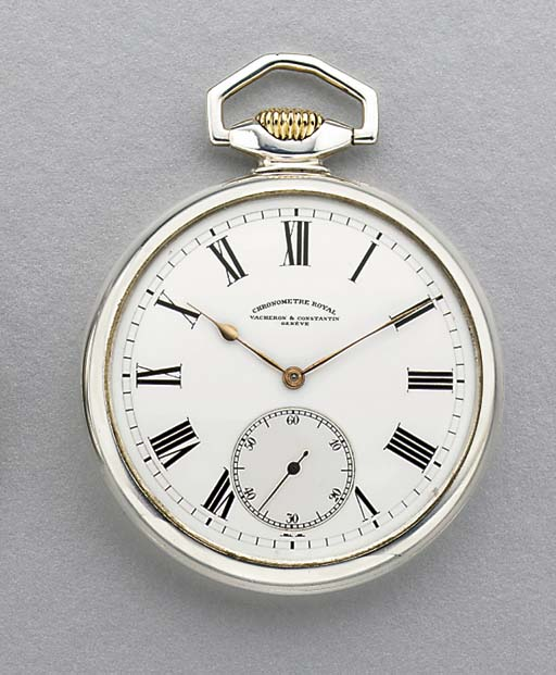 Vacheron & Constantin. A fine silver and gold openface keyless lever watch