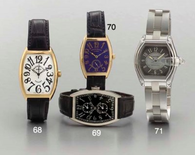 Cartier. A stainless steel sel