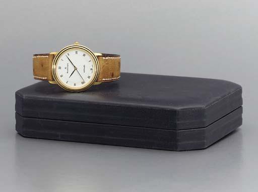 Blancpain. An 18K gold self-wi