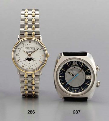 Blancpain. A stainless steel a