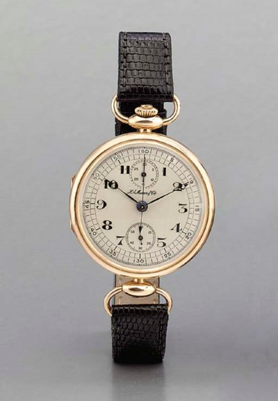 Moser. An early 14K pink gold