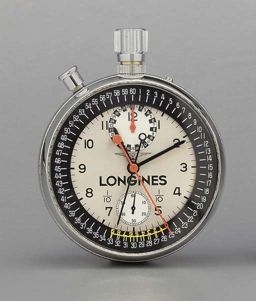 Longines. A stainless steel op