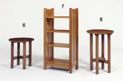 AN OAK TABLE