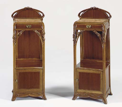 A PAIR OF ORMOLU-MOUNTED CARVE