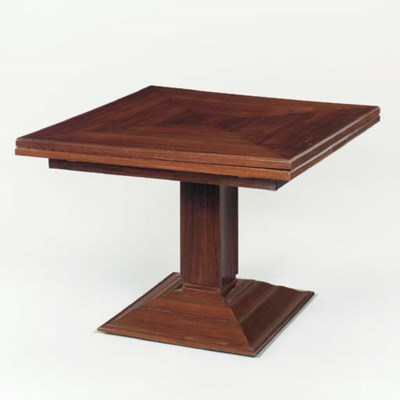 A ROSEWOOD EXTENSION TABLE
