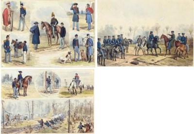 EDWIN FORBES (1839-1895), 1861