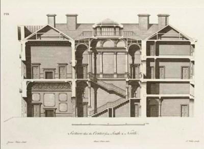 PAINE, James (1725-89). Plans,