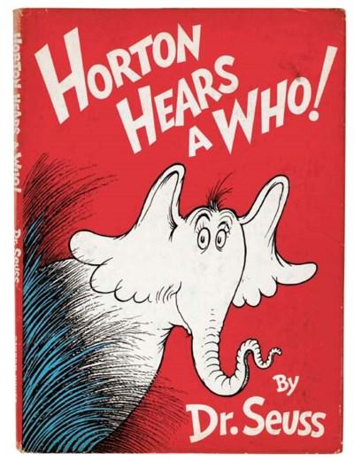 SEUSS, Dr. Horton Hears a Who!