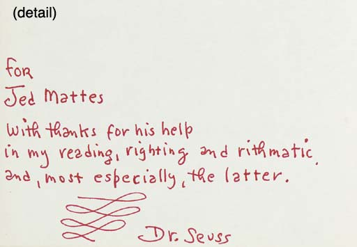 SEUSS, Dr. I Can Read with My