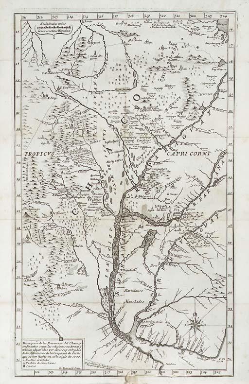 LOZANO, Pedro (1697-1759). Des