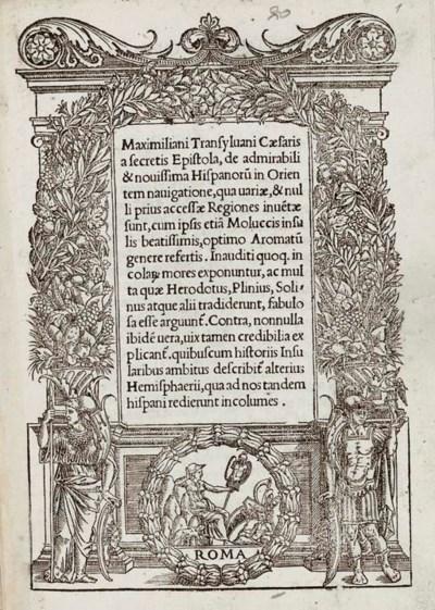 MAXIMILIANUS TRANSYLVANUS. Epi