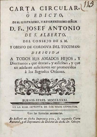 SAN ALBERTO, Jose Antonio de (