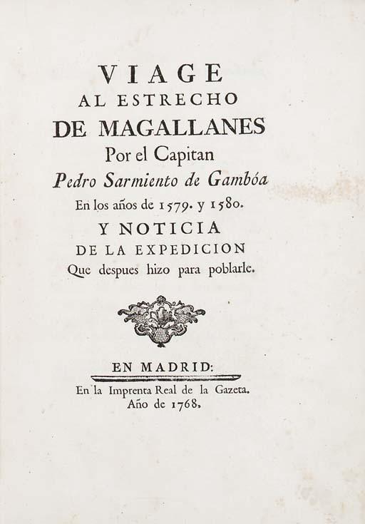 SARMIENTO DE GAMBOA, Pedro (ca