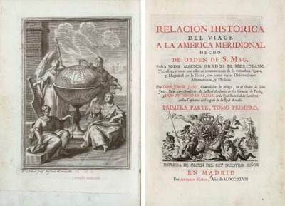 ULLOA, Antonio de (1716-95) an