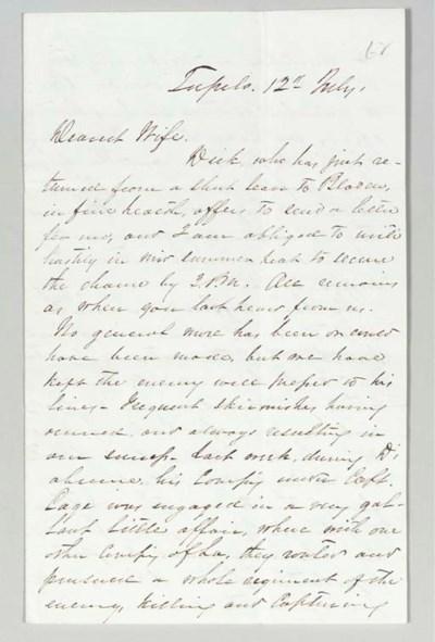 BRAGG, Braxton (1817-1876), Ge