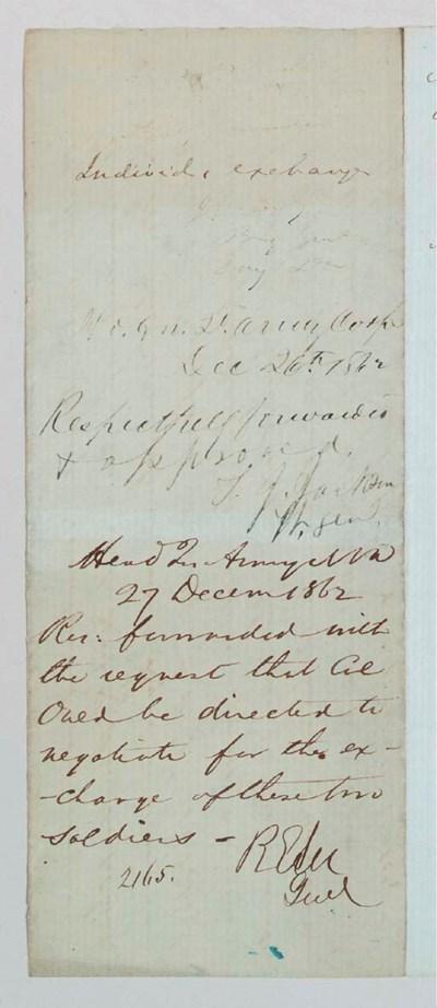 LEE, Robert E. (1807-1870), Ge