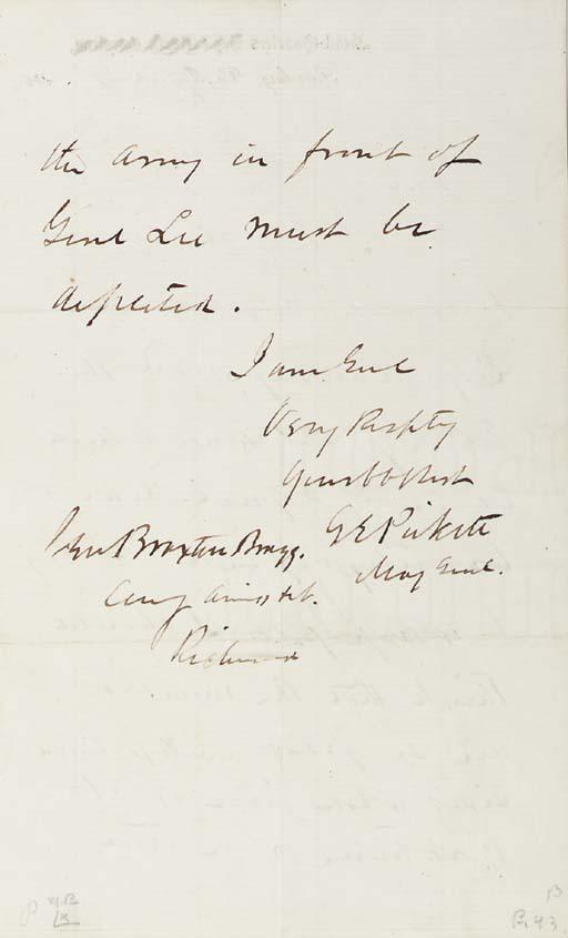 PICKETT, George E. (1825-1875)