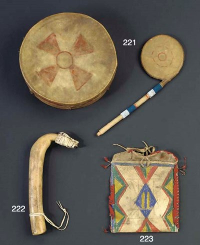 A PLAINS DRUM AND A GREAT LAKE