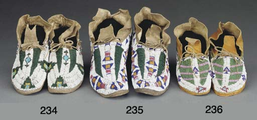 A PAIR OF ARAPAHO OR CHEYENNE