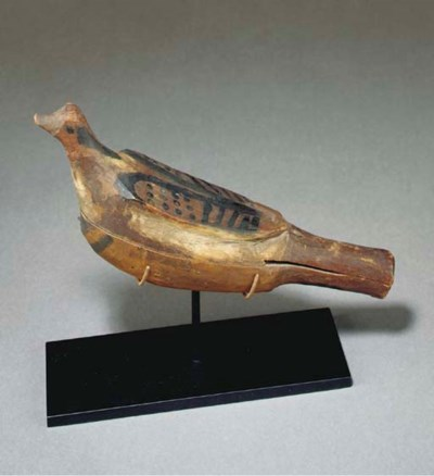 A NORTHWEST COAST POLYCHROME W