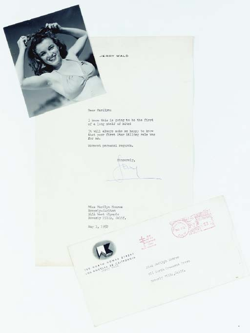 MARILYN MONROE RECEIVED LETTER