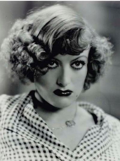 JOAN CRAWFORD PHOTOGRAPH BY GE