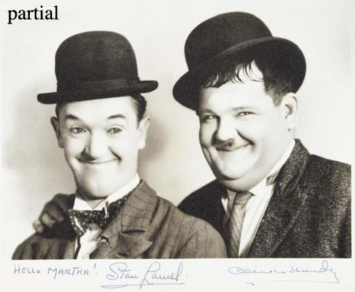 STAN LAUREL AND OLIVER HARDY S