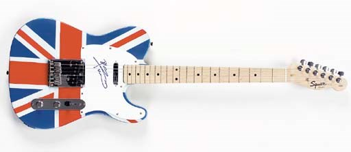 PETE TOWNSHEND SIGNED GUITAR