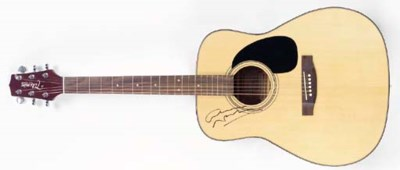 GRAHAM NASH SIGNED GUITAR