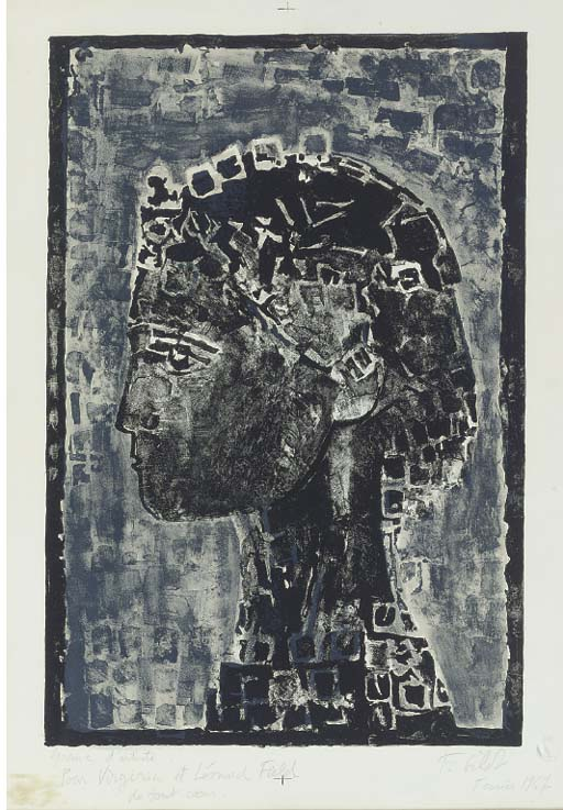 FRANCOIS GILOT (b. 1921)
