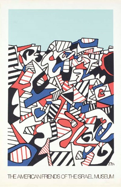After Jean Dubuffet (1901-1985