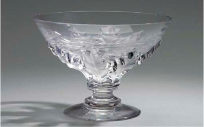 A GLASS BOWL,