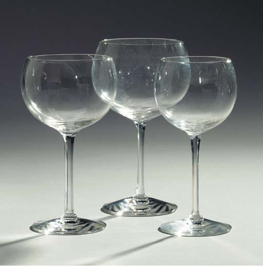 A FRENCH PART STEMWARE SERVICE