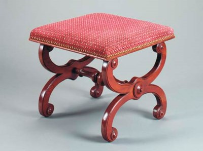A LOUIS PHILLIPPE MAHOGANY UPH