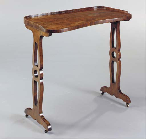 A LATE REGENCY ROSEWOOD LADY'S