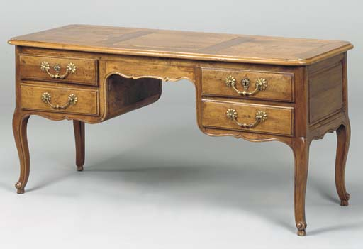 A PROVINCIAL LOUIS XV CARVED W