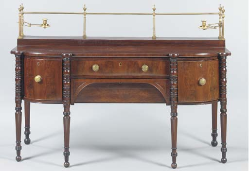 A SCOTTISH REGENCY MAHOGANY SI