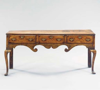 GEORGE III OAK WELSH DRESSER B