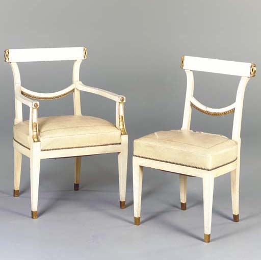 A SET OF TWELVE GUSTAVIAN STYL