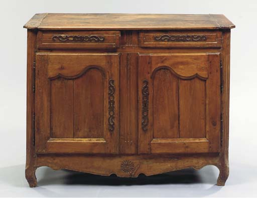 PROVINCIAL LOUIS XV CARVED WAL