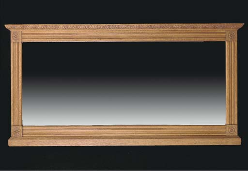 A NEOCLASSIC STYLE STAINED OAK