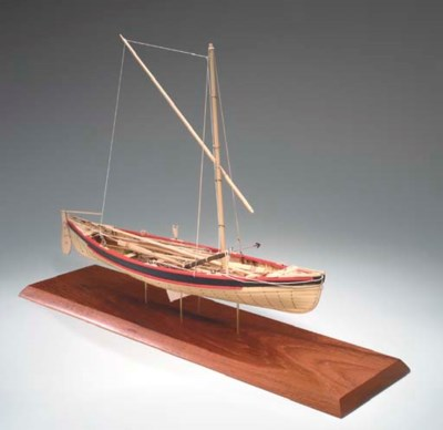 A scale model of a New England