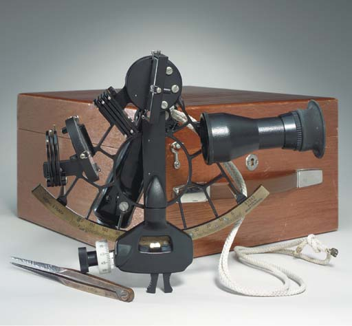 A 20th century boxed sextant