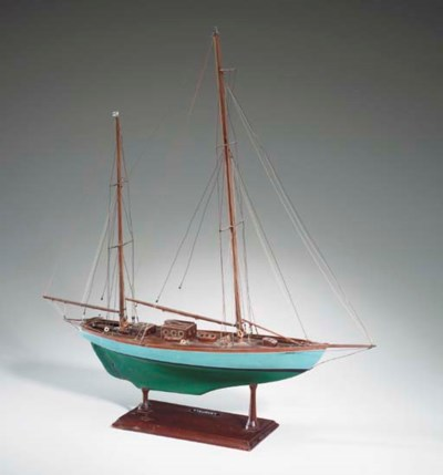 A scale model of the L. Franci