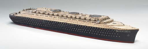 A Hull model of the S.S. Norma