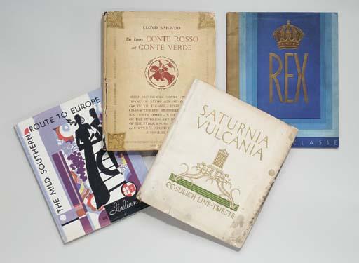 Italian Line; a pair of books